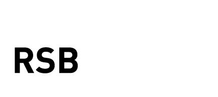 RSB Design Logo weiss