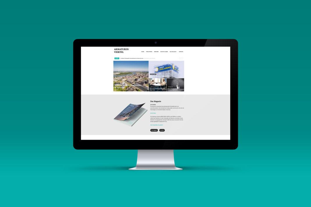 Titelbild - News - Neue Webseite Armaturen Viertel